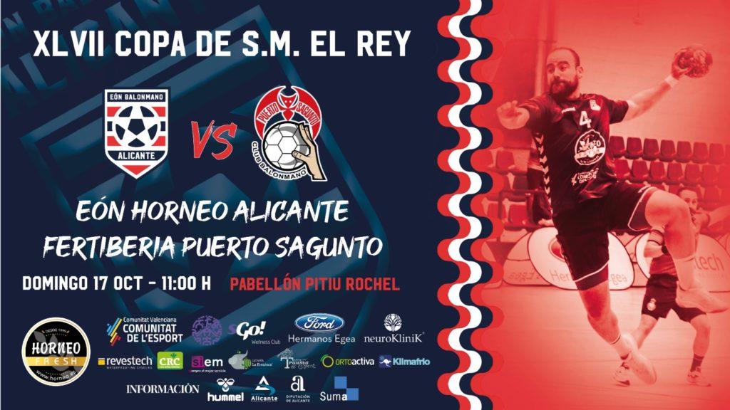 El Eón Horneo Alicante debuta en la Copa del Rey el próximo domingo ante el Fertiberia Puerto de Sagunto